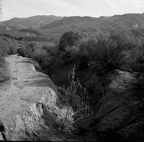 Sespe Creek Gullied Road, Topatopa