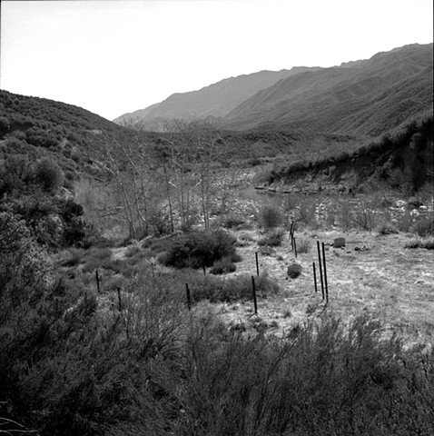 Old Corral on Sespe Creek