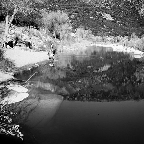 Sespe Creek Pool No. 1