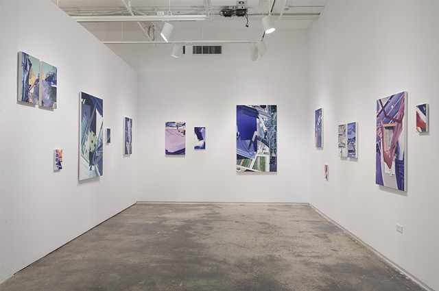 Installation View of GLITCH (eye in the sky)