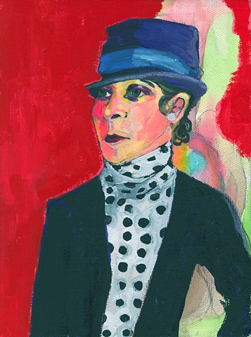 A Handsome Lady with Polka Dots (Djuna Barnes)