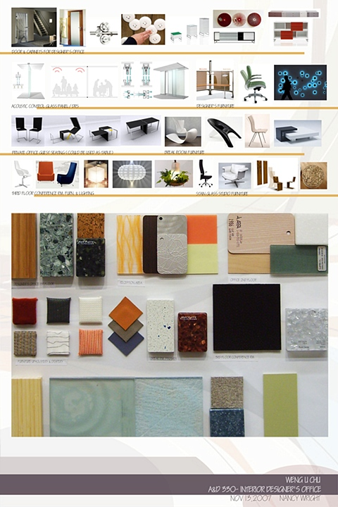 Freda Weng U Chu Design and Stain Glass Studio Furniture and