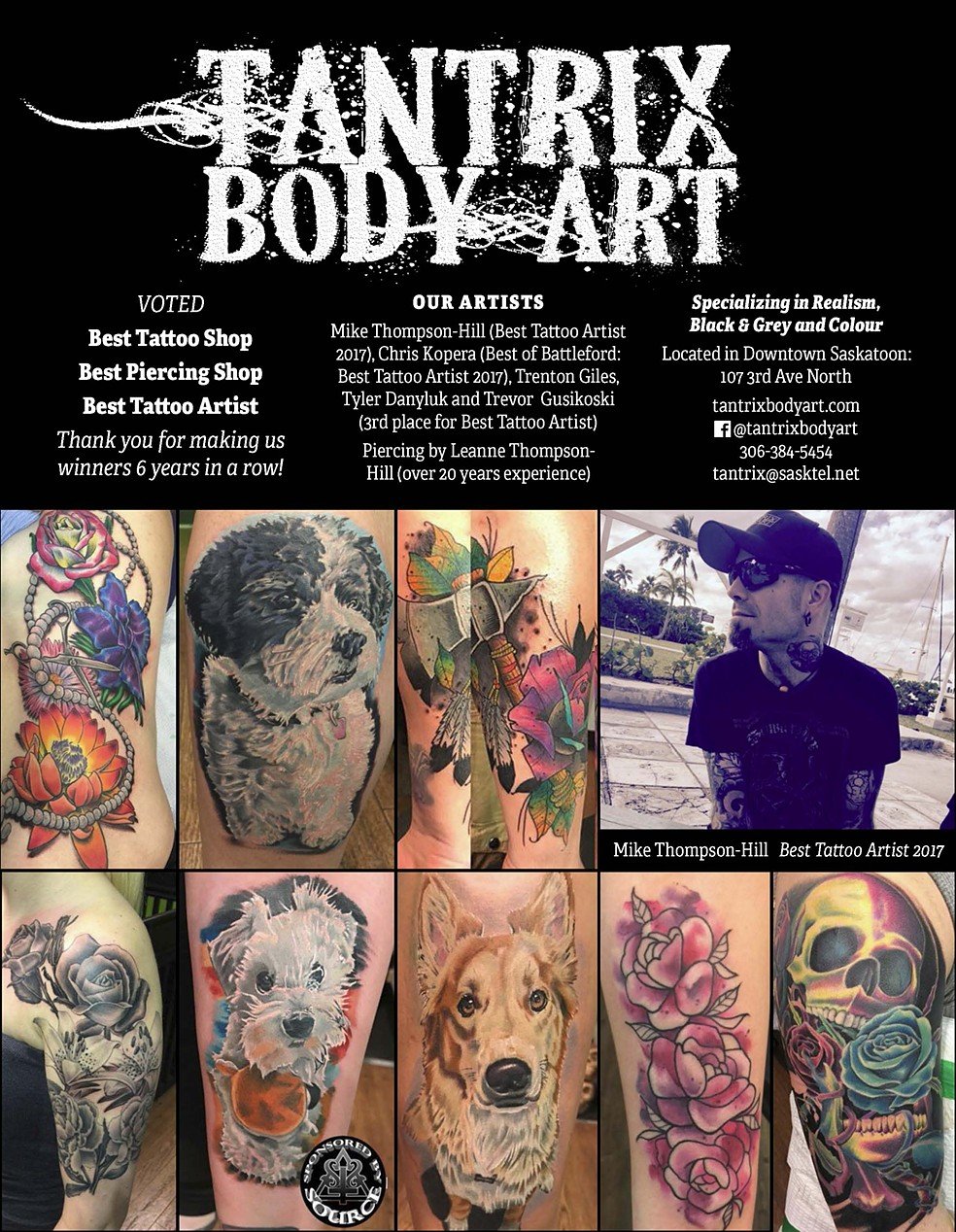 Tantrix Body Art Is Located In The City Of Saskatoon In The Canadian Province Of Saskatchewan Tantrix Provides Custom Tattoos And Professional Body