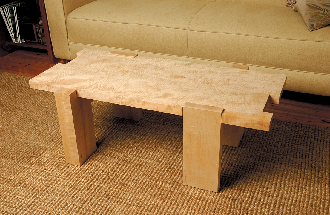 R BLAIR SCHMIDTCurly Maple Coffee Table