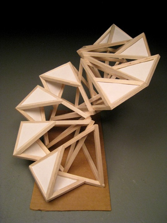 KyoungHwa Oh - Wood Sculpture #2 - Modular Design