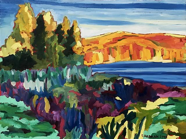 Autumn, Cross River Reservoir, NY