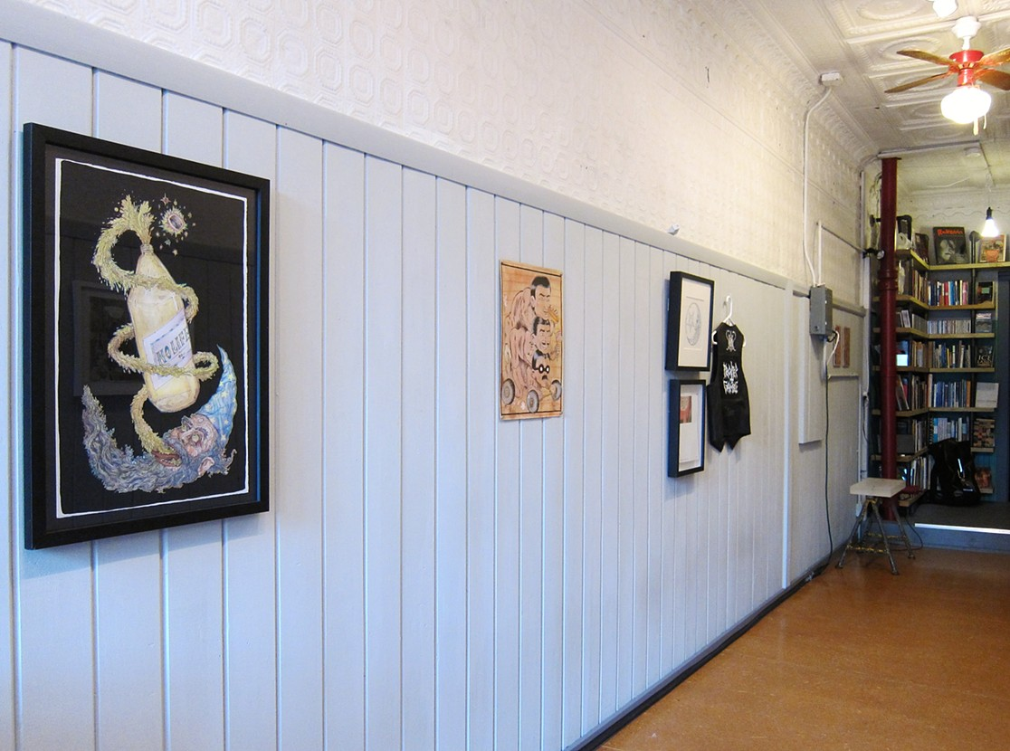 the Hallway Gallery, Jamaica Plain MA