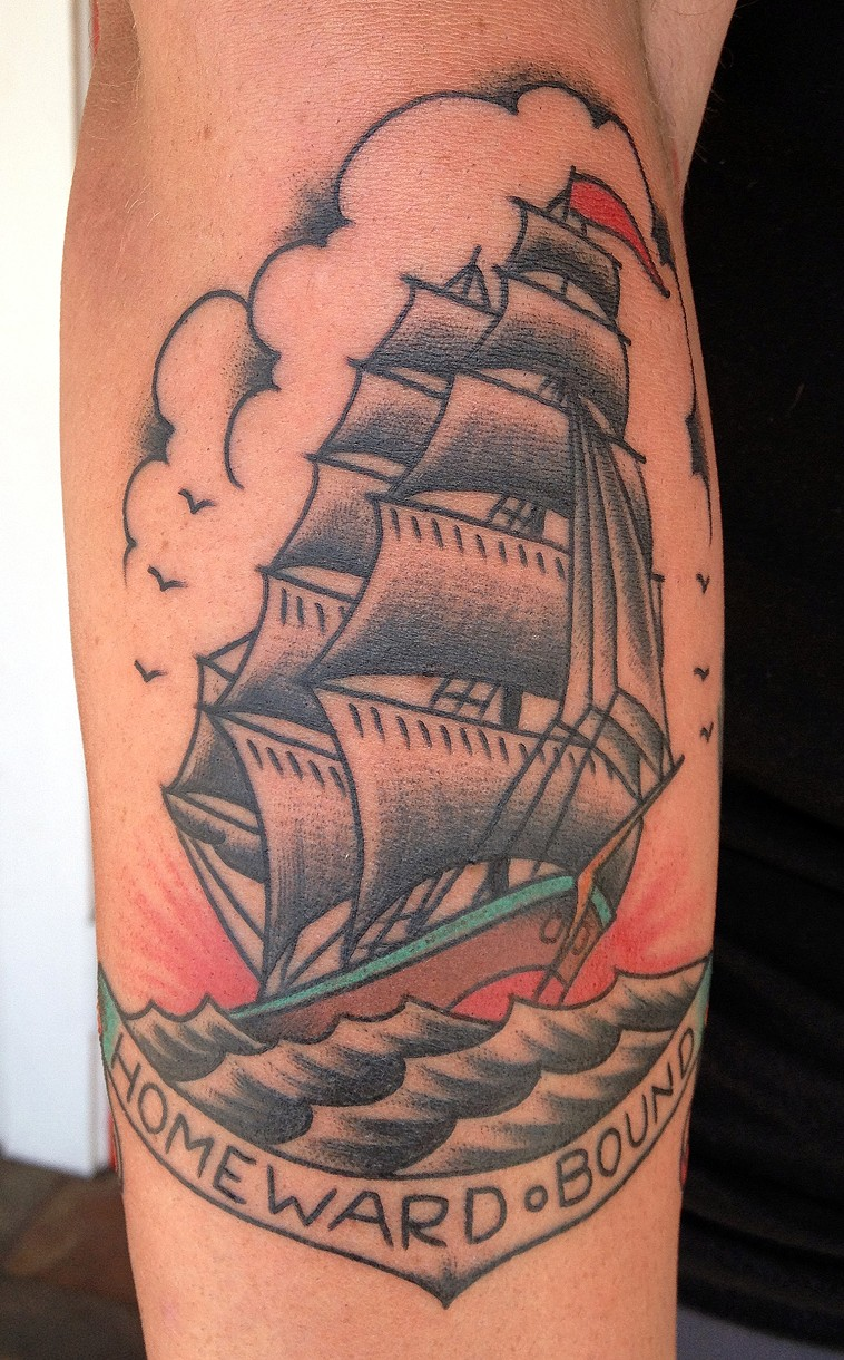 Matt Diehl Permanent Souvenir Tattoos Kihei Maui