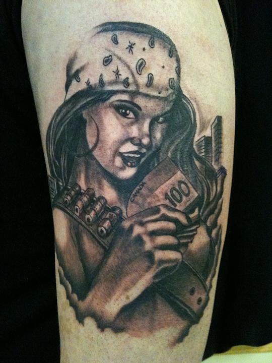 Gangster Disciple Tattoo Designs
