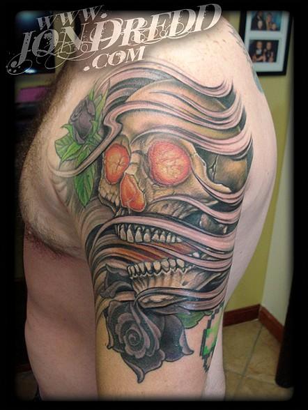 Jonathan kellogg tattoo artist jon dredd for The rose tattoo play