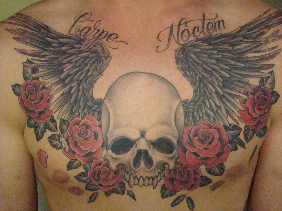 Angel Tattoos | Angel Wings  - Free Tattoo Designs