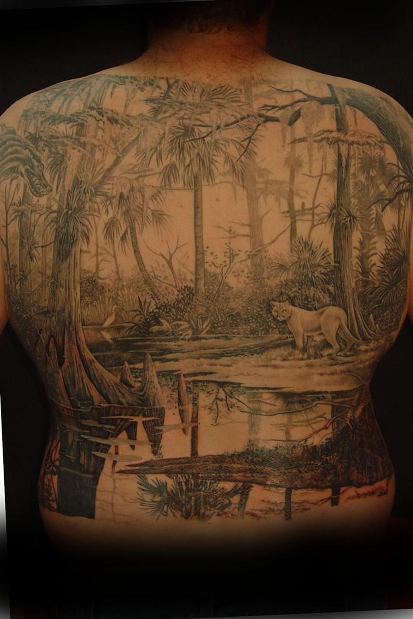 Swamp tattoos tattoo collections for Stahlwandbecken 3 60 x 0 90