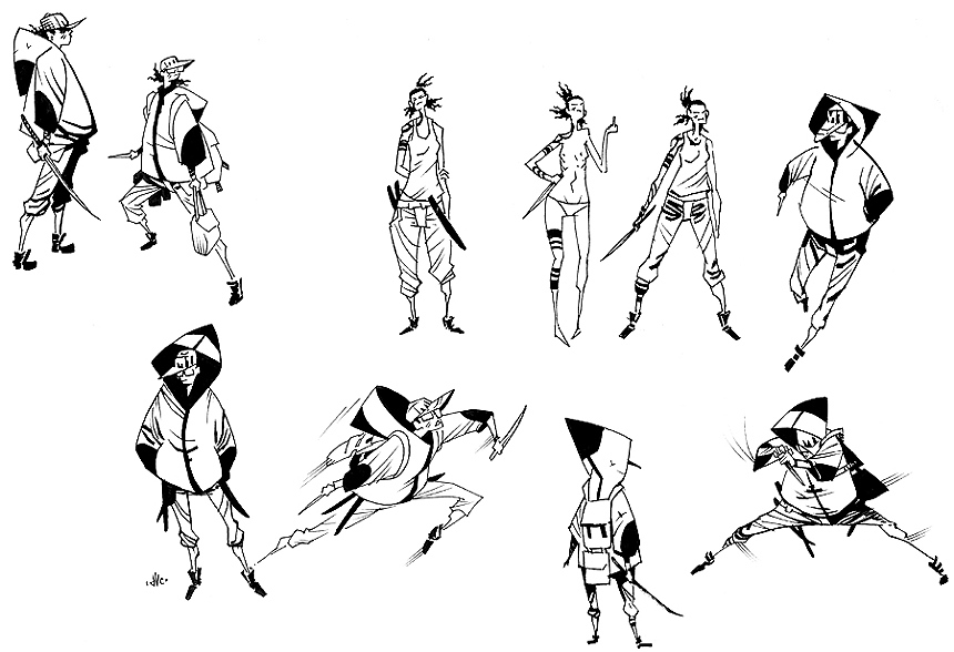 Character Design Novel : Davecrosland