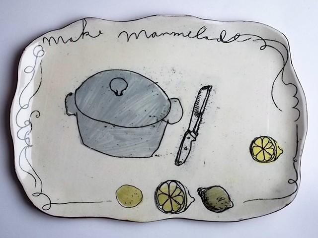 make marmelade platter