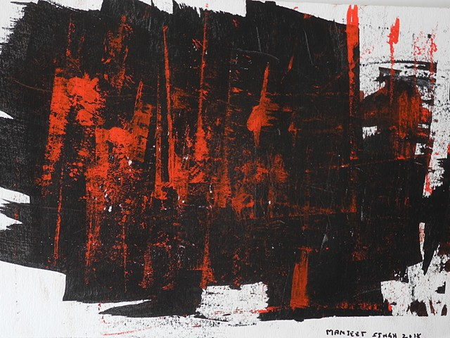 Abstract fine art from Paris based artist