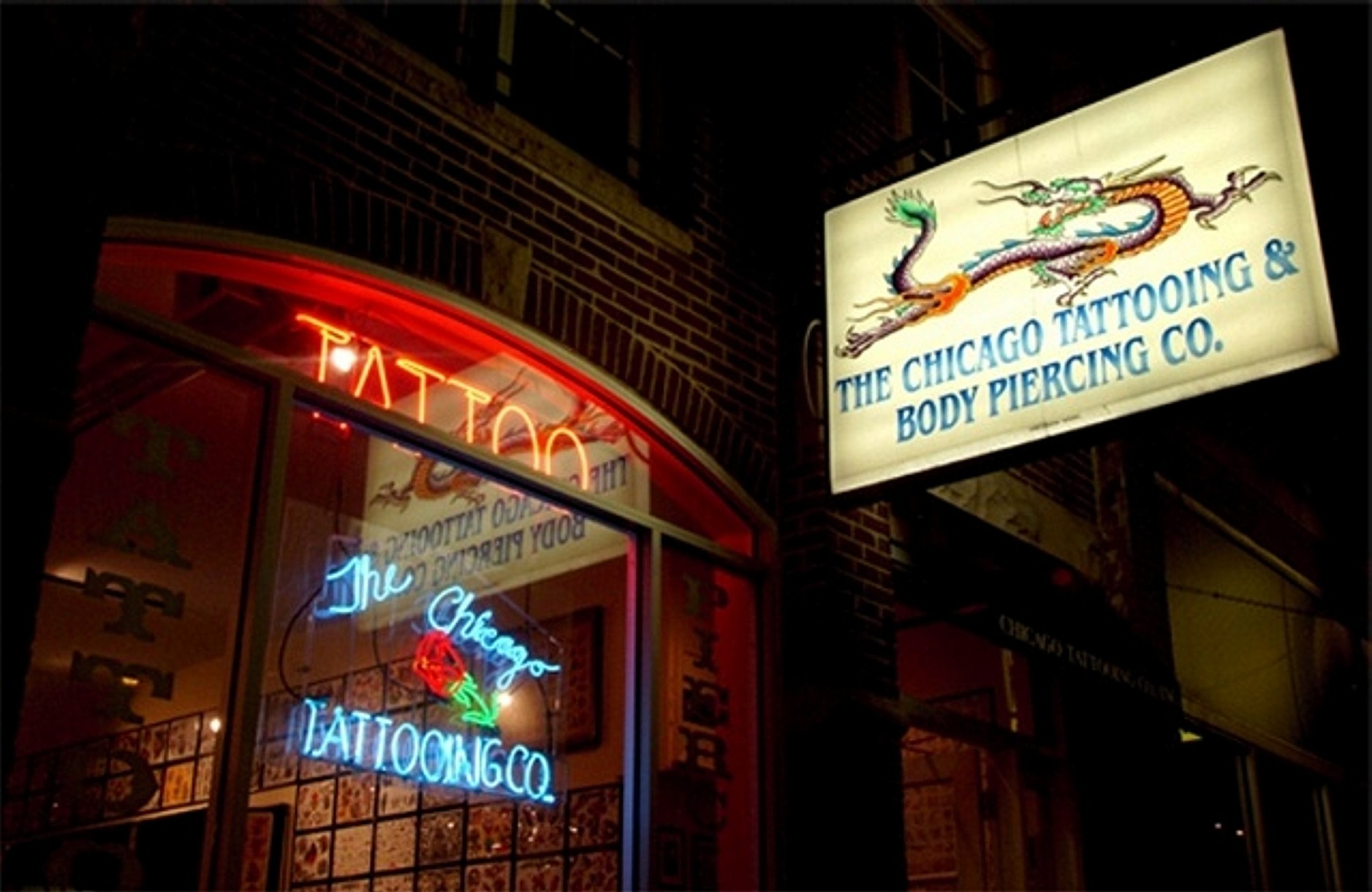 The chicago tattooing and piercing company inc for Matt pardo tattoo