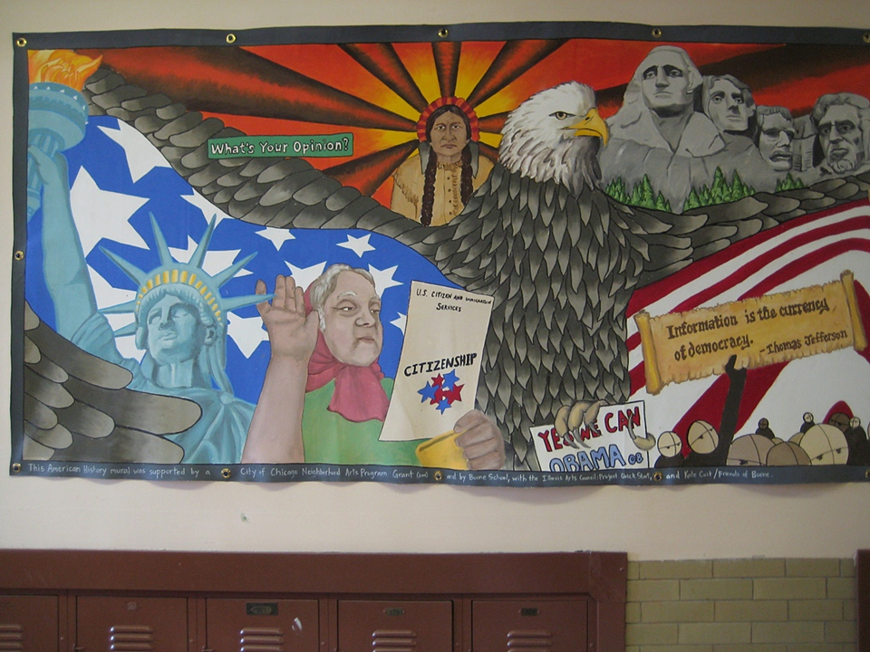 Mix masters murals for Mural history