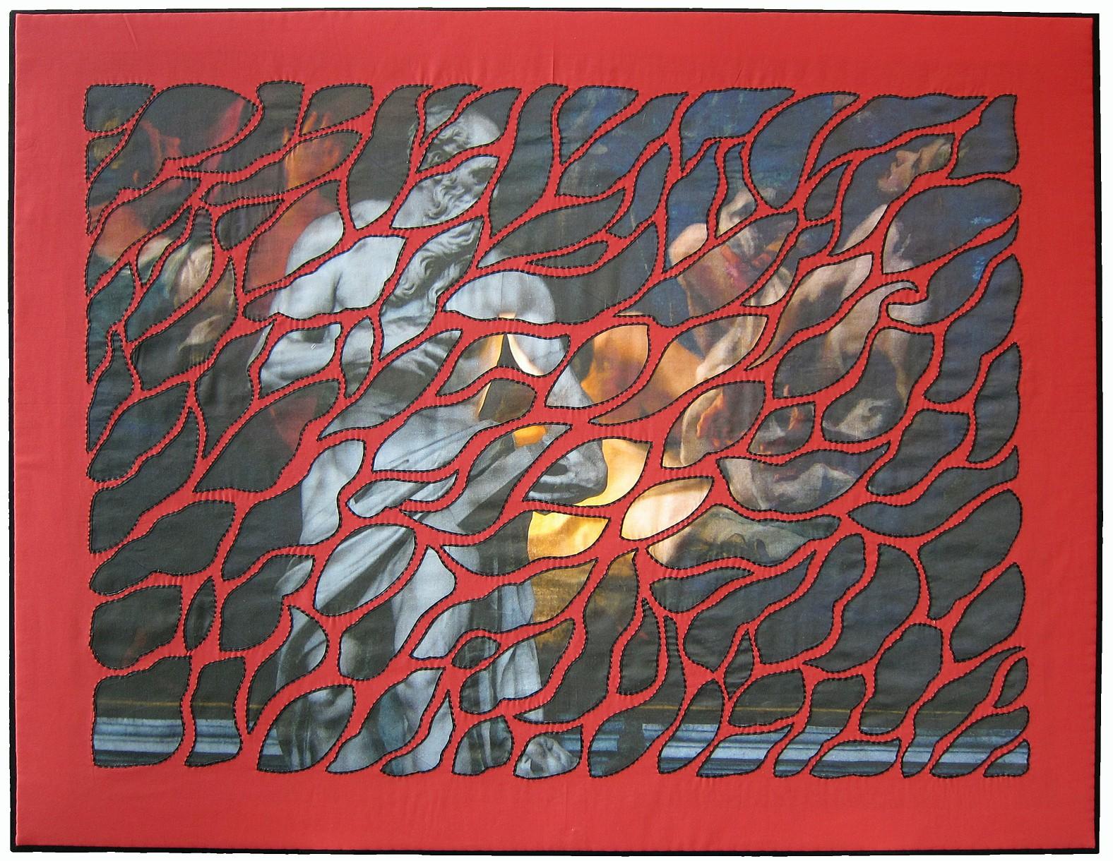 Kristin hoelscher schacker fiber art for Art 1576 cc