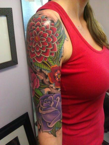 Jason salinaz splash of color east lansing mi for Splash color tattoo