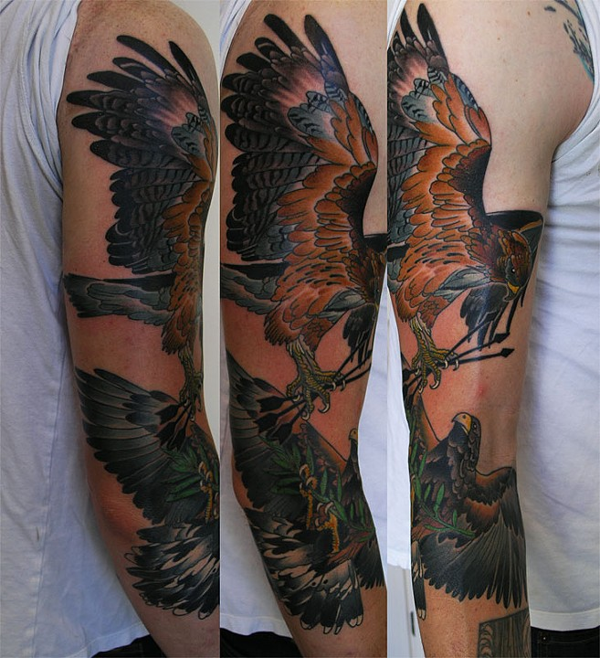 San Francisco Tattoo Artist Adam Sky