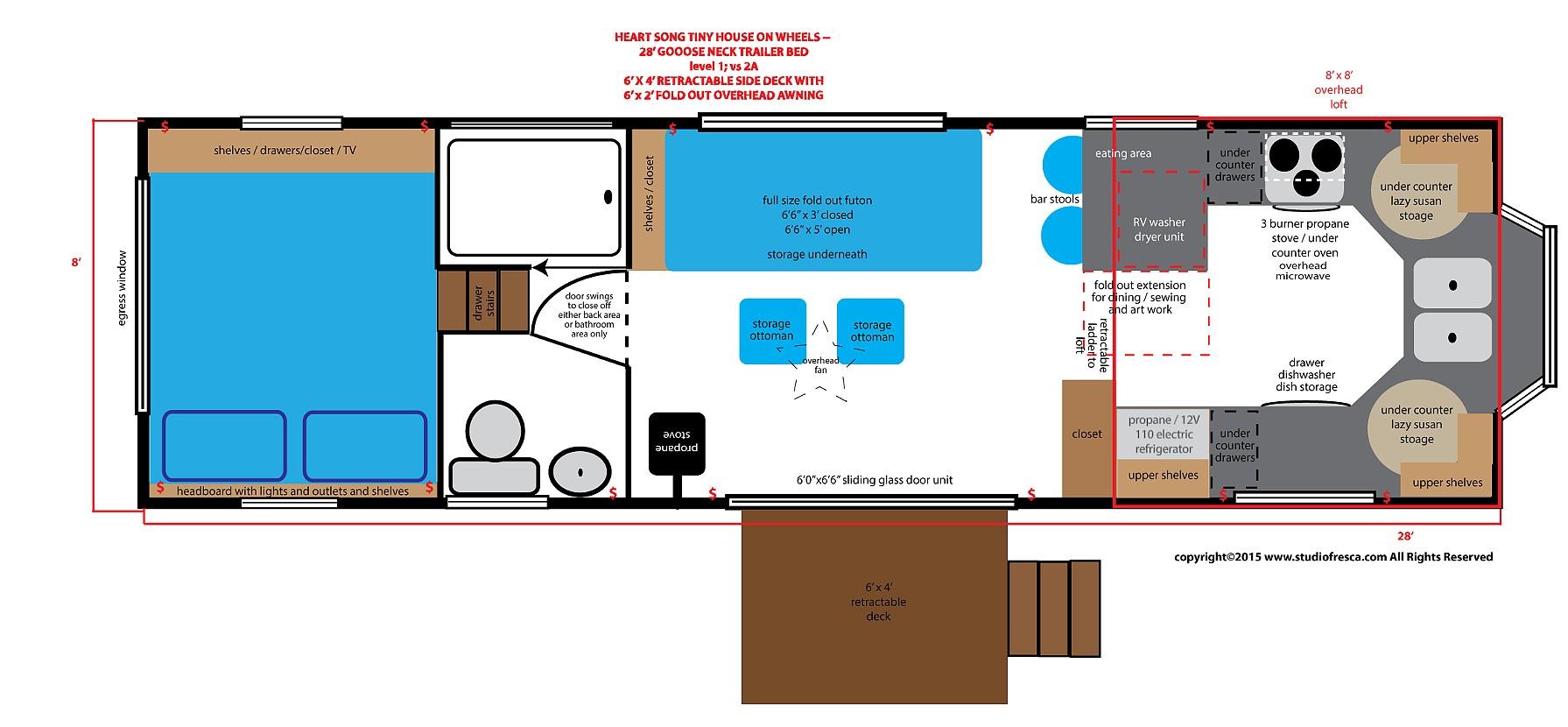 Tiny houses floor plans ideas