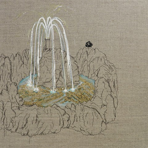 Mountain Fountain I