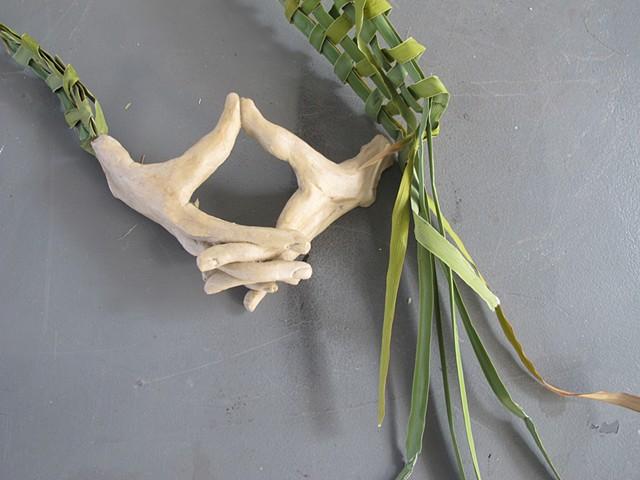 Karoo Gestures Folded Hands Detail