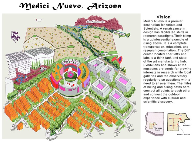 Medici Nuevo - Bird's Eye Drawing and Vision Statement