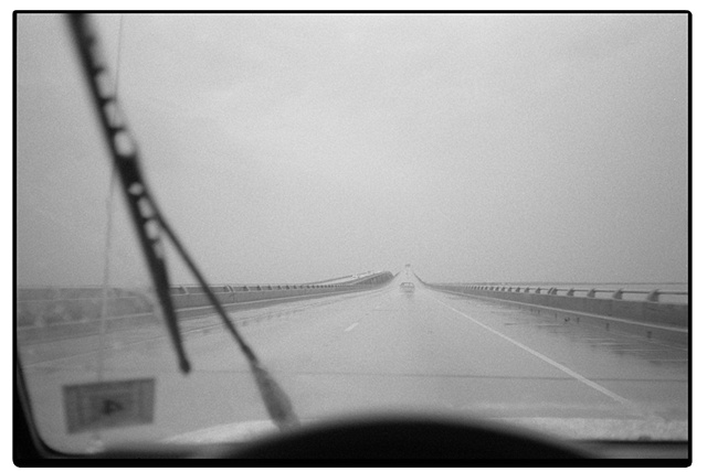 Lake Ponchartrain Causeway from St. Tammany Parish to New Orleans, LA