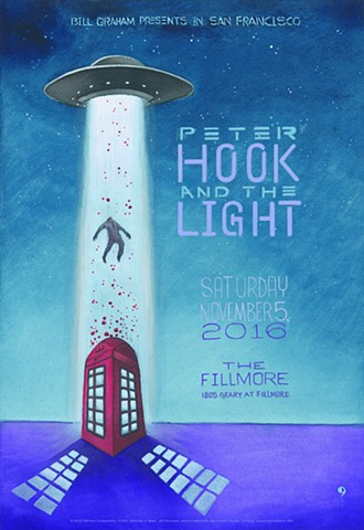Peter Hook & the Light at the Fillmore in San Francisco