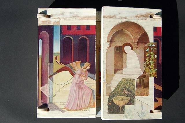 Annunciation Triptych--closed
