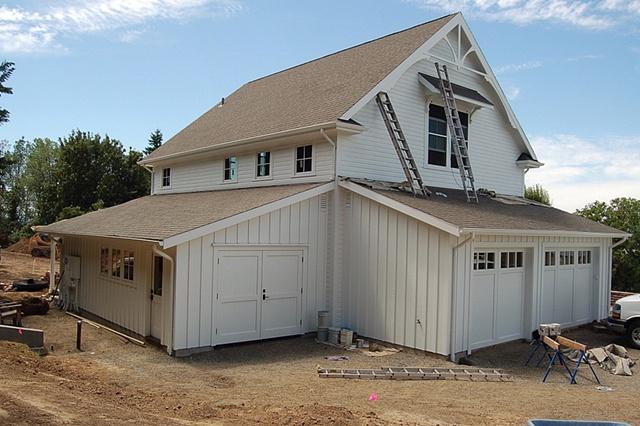 Ridgefield--Garage View