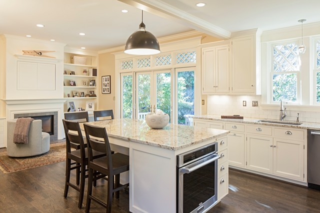 Southwest Hills--Kitchen and Family Room