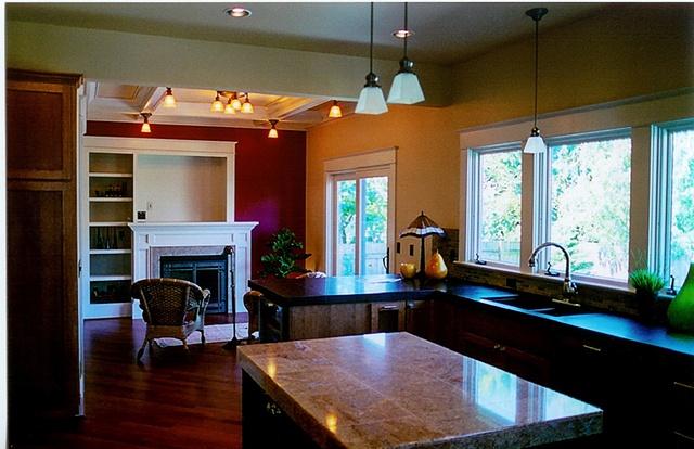 Irvington--Kitchen and Sitting Nook