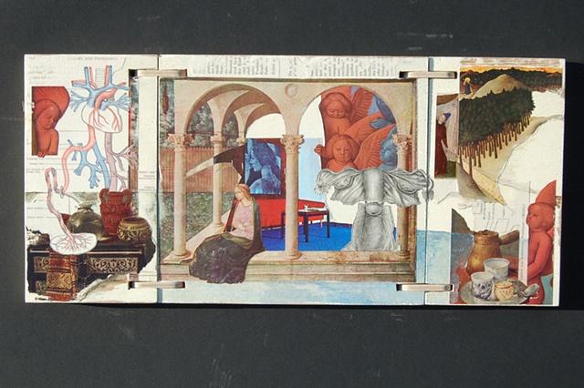 Annunciation Triptych--open