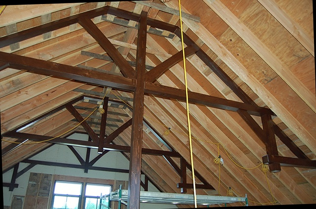 Ridgefield--Playroom Trusses