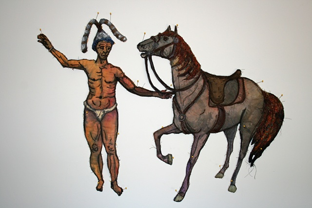 Chief Jumper and His Horse
