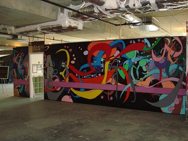 Artomatic 2009 Mural