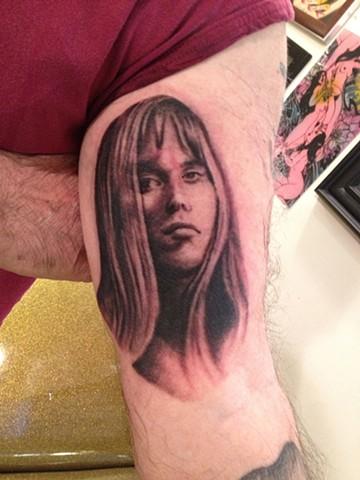 woman portrait, Provincetown tattoo, Cape Cod tattoo, Ptown tattoo, truro tattoo, wellfleet tattoo, custom tattoo, coastline tattoo