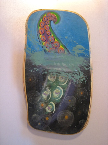 octopus tentacle painting, Provincetown, Cape Cod, Coastline, Ptown