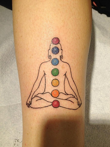 zen yoga chakras, custom tattoo, Provincetown, Cape Cod, Coastline, Ptown