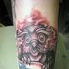 Smokey Owl, custom tattoo, Provincetown, Cape Cod, Coastline, Ptown