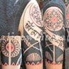 Alice White - tibetan tribal, Provincetown tattoo, Cape Cod tattoo, P-Town tattoo, custom tattoo, coastline tattoo