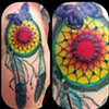 Eric Eaton - butterfly dream catcher tattoo
