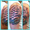 Charles Rouse - clipper ship tattoo