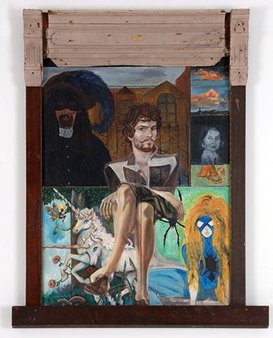 Self Portrait, In the Mirror  (2005-2007) private collection