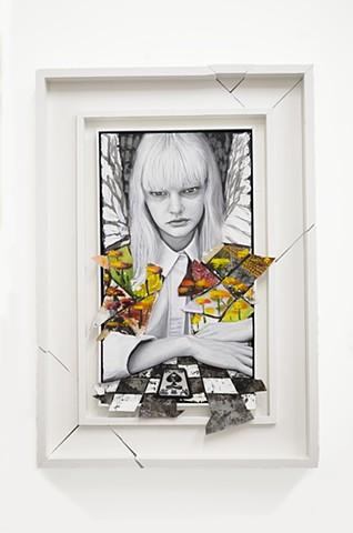 James Gortner, Art, Alice in wonderland, angel