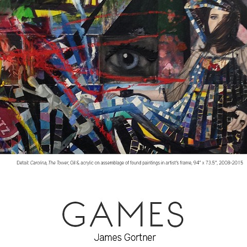 """Every Portrait made with feeling, is really a portrait of the artist."" -Oscar Wilde James Gortner GAMES Opens Nov 21 @ Fernando Luis Alvarez Gallery"