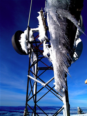 Winter Weathervane