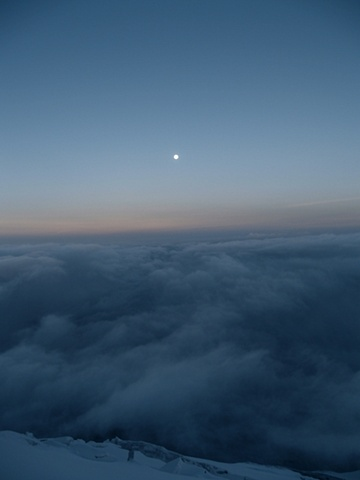The Moon at Dawn